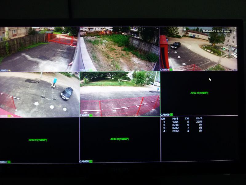 Примеры работ Урал Прогресс Строй - Видеонаблюдение